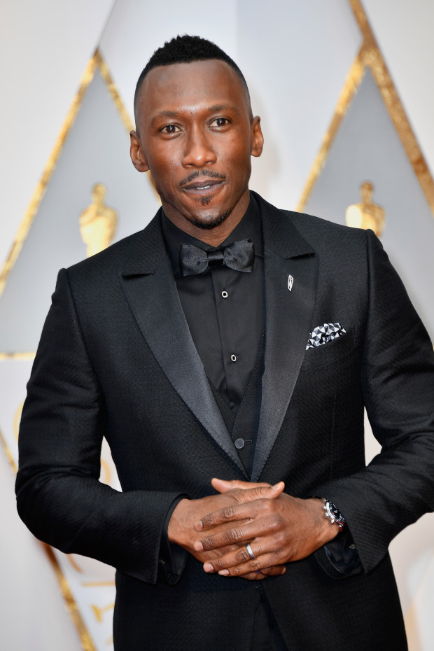 HOLLYWOOD, CA - FEBRUARY 26:  Actor Mahershala Ali attends the 89th Annual Academy Awards at Hollywood & Highland Center on February 26, 2017 in Hollywood, California.  (Photo by Frazer Harrison/Getty Images)