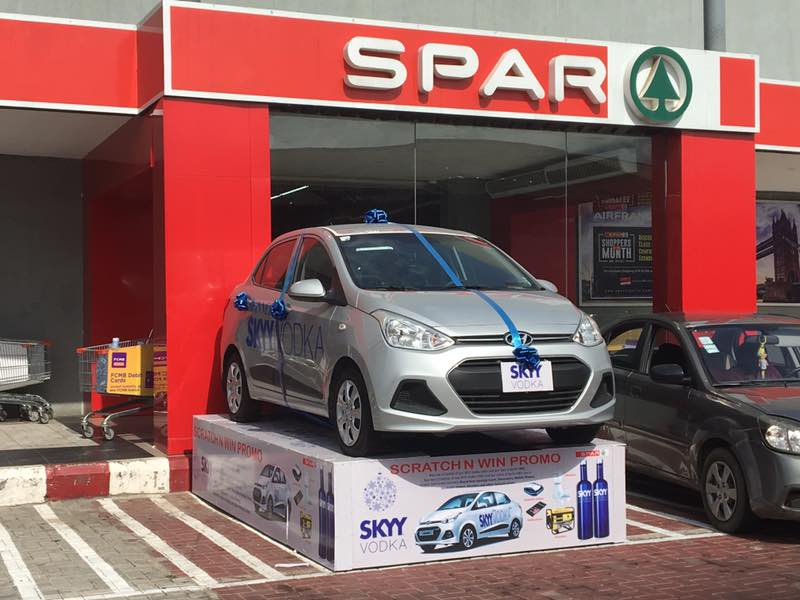 Brand New Hyundai Xcent To Be Won In The SKYY Vodka Scratch & Win Promo