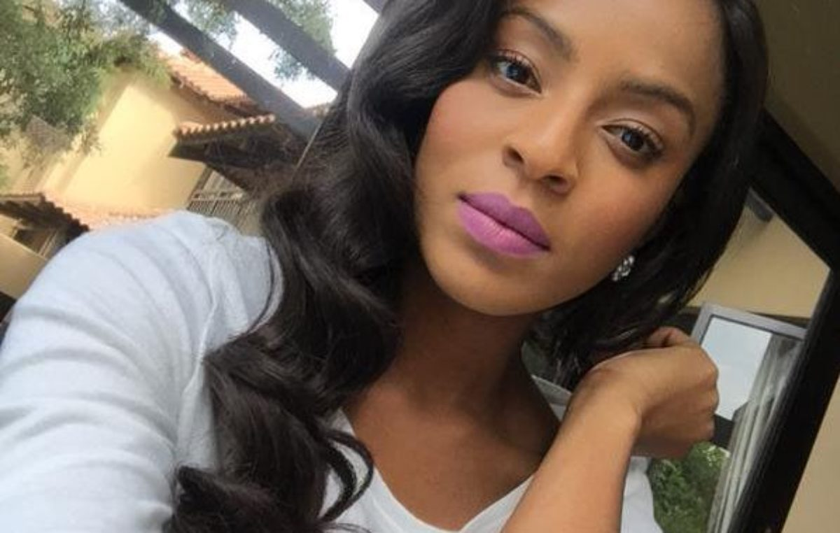 Jessica Nkosi: South African Actress renews Contract with Clinique