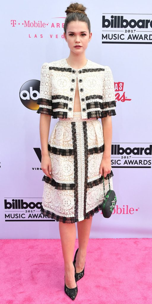 LAS VEGAS, NV - MAY 21:  Actor Maia Mitchell attends the 2017 Billboard Music Awards at T-Mobile Arena on May 21, 2017 in Las Vegas, Nevada.  (Photo by Steve Granitz/WireImage)