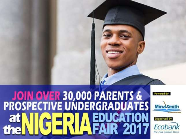 Mind Smith Ltd and Ecobank Nigeria Plc announce the commencement of Nigeria Education Fair 2017