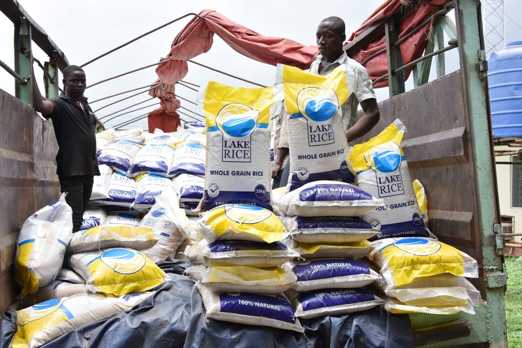 70 trailer load of Lake Rice arrive Lagos ahead of Eid-El-Kabir