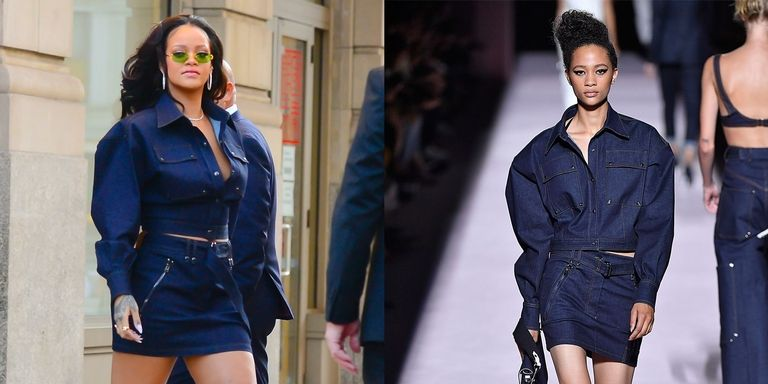 Rihanna  Steps Out in Tom Ford's Newest Collection