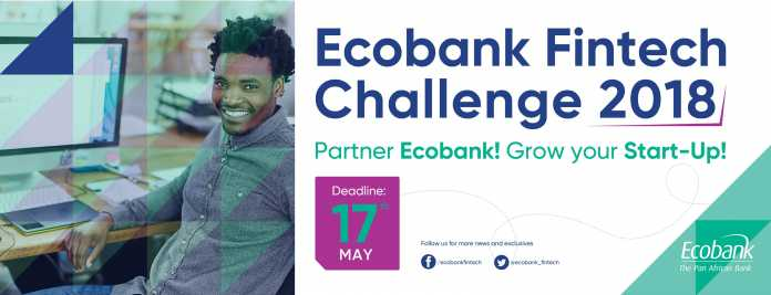 The competition gives African start-ups the chance to promote their fintech solutions, and potentially to partner Ecobank in rolling-out their solutions across Ecobank's 33 markets