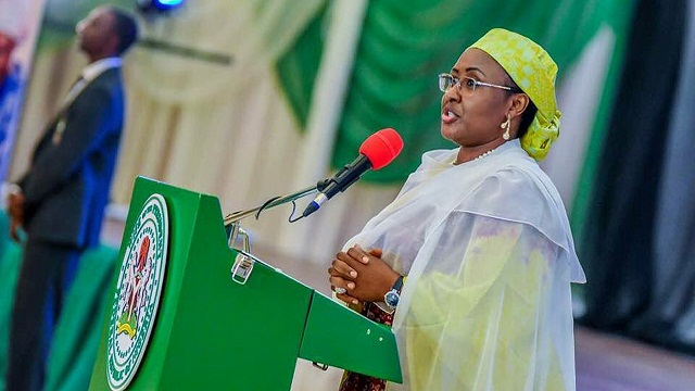 Nigeria's First Lady is Alarmed with the Rise of Codeine Abuse