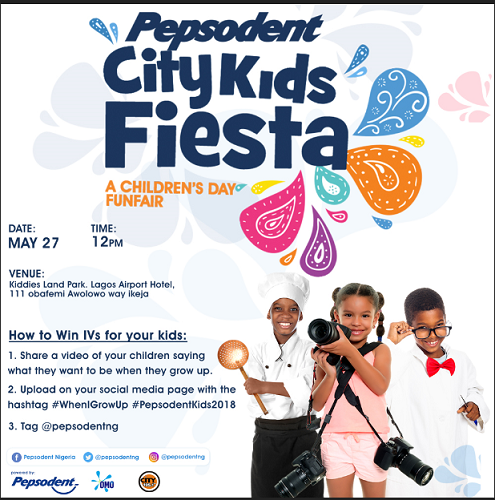 Sisi Yemmie, 'Lagos House Wife' and Their Kids Join the Pepsodent #WhenIGrowUp Challenge