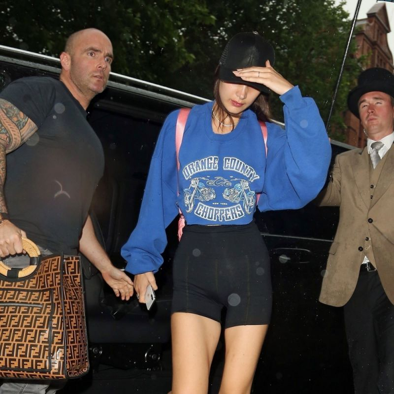 Bella Hadid's Hot Bodyguard is Back—This Time, Carrying Her Fendi Bag
