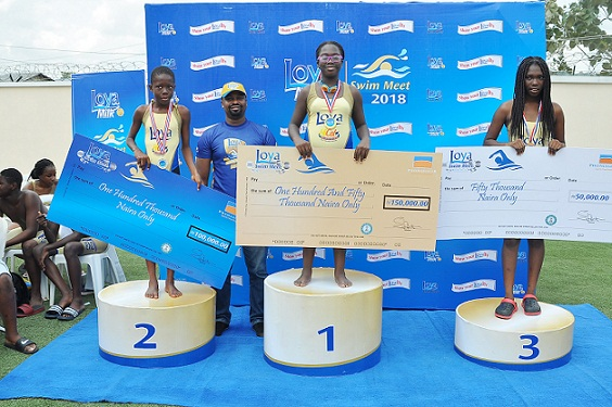 Lifeforte Wins Loya Milk Secondary Schools Swimming Competition