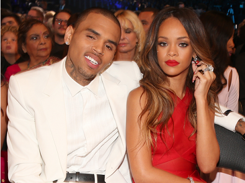 Rihanna fans furious after Chris Brown comments on her nude Instagram pic