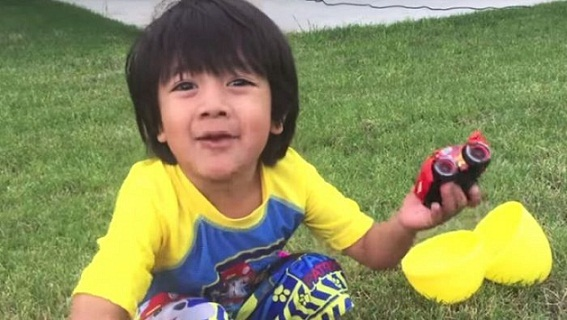Seven-year-old Earns £17m Reviewing Toys on YouTube