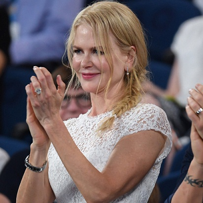 Nicole Kidman's Cool-Girl Braid Wins Best Courtside Beauty at the Australian Open