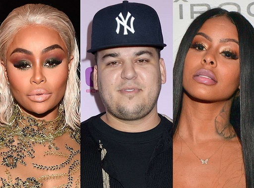 Rob Kardashian Just Inserted Himself in Blac Chyna and Alexis Skyy's Feud
