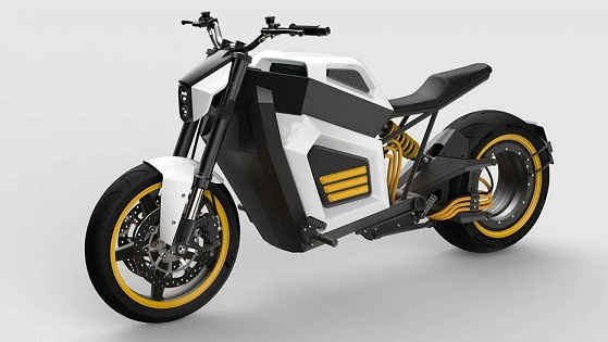 Finnish Electric Motorcycle Debuts with Revolutionary Hubless Wheel