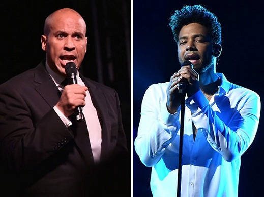 cory-booker-jussie-smollet-