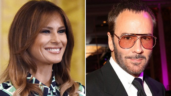 How Tom Ford Got Pulled into a Fake News Scandal Involving Melania Trump