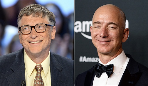 Gates Joins Bezos as the Only Two Members of the $100 Billion Club