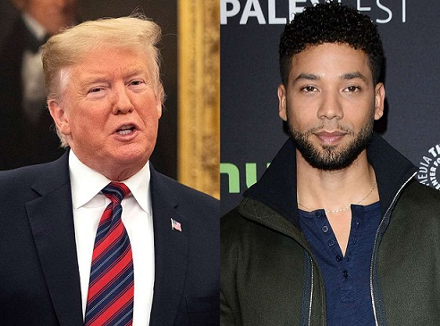 Update: DOJ, FBI to Review 'Outrageous' Jussie Smollett Case, Trump says