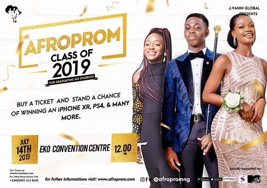 "Top Nigerian Celebrities Gear Up for Nigeria's First ever Prom Concert ""Afroprom""."