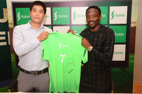 Ahmed Musa and Syinix