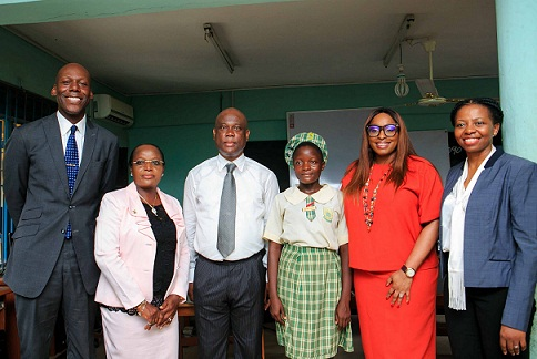 Access GMD, Herbert Wigwe Shares Success Tips with Students during Children's Day Celebration