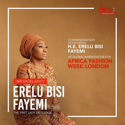 AFWL 2019 Global Ambassador - Erelu Bisi Fayemi The First Lady of Ekiti State