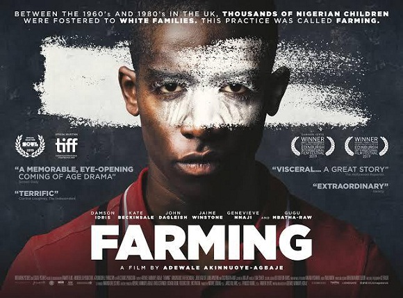 FILMONE AND ACCELERATE TV TO RELEASE ADEWALE AKINNUOYE-AGBAJE'S 'FARMING' IN WEST AFRICA