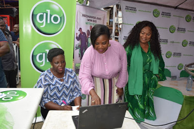 Glo shuts down Ikeja Computer Village as 100 Nigerians win in My Own Don Beta Promo