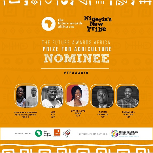 Burna Boy, Debo Ogundoyin, Teni, Falz The Bahd Guy, Tega Oghenejobo, Adesola Ade-Unuigbe, Sharon Ooja, Timini Egbuson, others nominated for The Future Awards Africa 2019