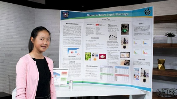 America's 14-year-old 'Top Young Scientist' has a Plan to Fight Superbug Diseases