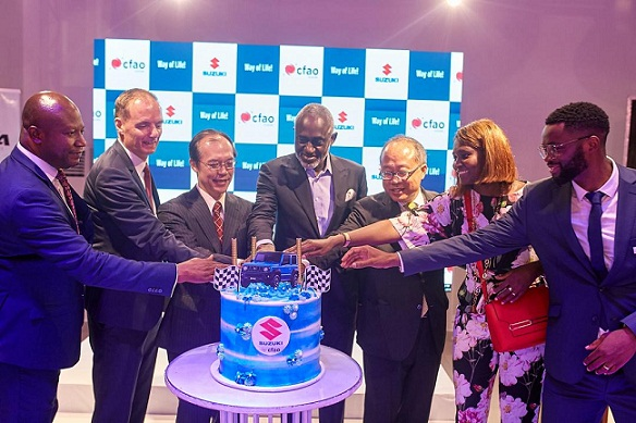 CFAO Launches Suzuki Cars