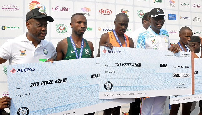 Wigwe Delighted about Marathon Success, increased Competitiveness of Athletes