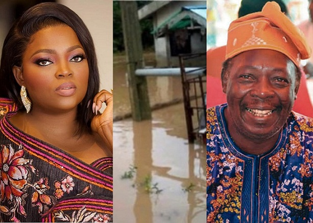 Funke Akindele gifts Pa James A New House