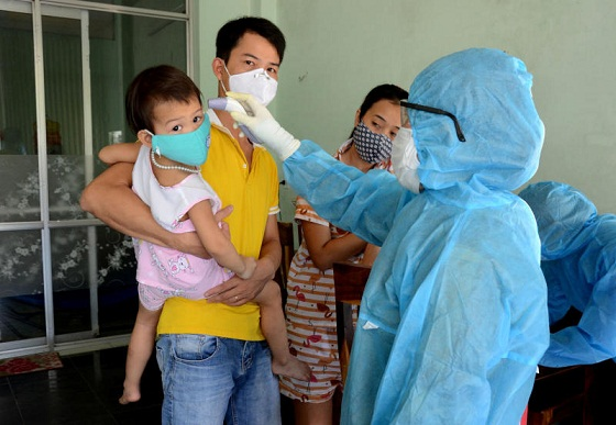 Covid-19: Coronavirus: Vietnam Evacuating 80,000 from City after three Positive COVID-19 Tests