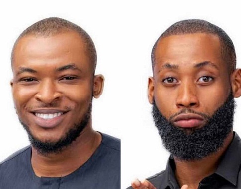 Tochi, Eric Evicted from BBNaija Season 5 Locked Down Edition