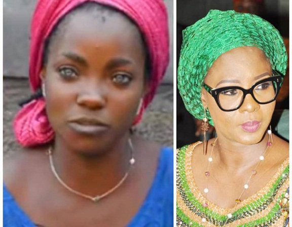 Kwara State First Lady  Offers To Help Risikat, Blue-Eyed Mom And Daughters