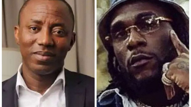 Sowore invites Burna Boy to join Protest