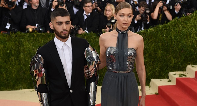 Gigi Hadid  Welcomes Baby Girl with Boyfriend Zayn Malik