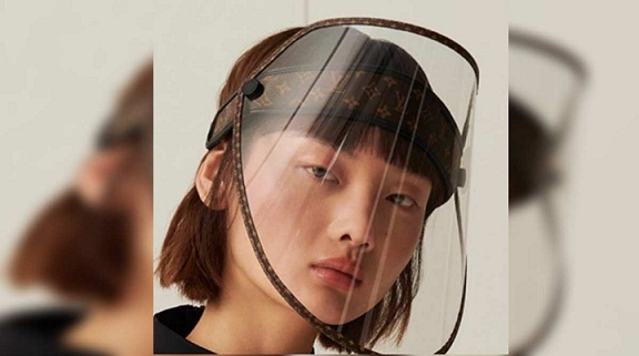 Louis Vuitton Released a $961 Monogram Face Shield