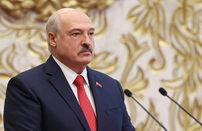 Despite mass protests, Belarus President Lukashenko swears himself in for 6th term in secret ceremony