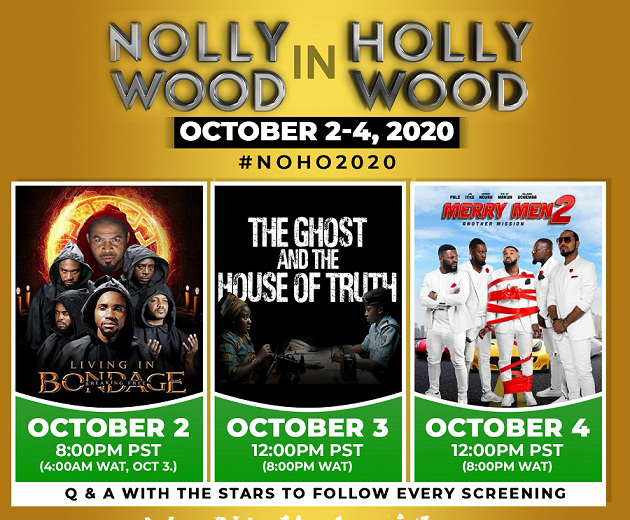 2020 NOLLYWOOD IN HOLLYWOOD KICKS OFF ONLINE TODAY