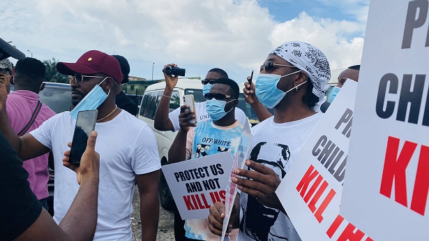 Falz, Runtown lead #EndSARS Peaceful Protest in Lagos