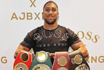 GLO Greets Anthony Joshua on Successful Title Defence
