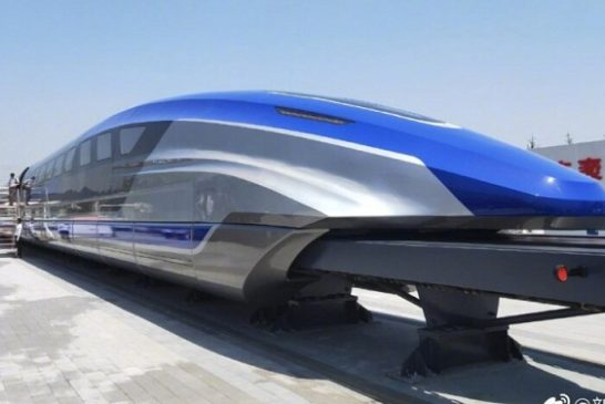 China Unveils Train Able To Travel Lagos-Kano Under 90 Minutes