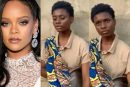 Rihanna Reaches out to 17-year-old Nigerian Hawker who Sings with Beautiful Voice